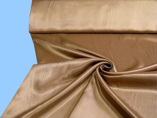 Futterstoff changierend - beige/terrakotta