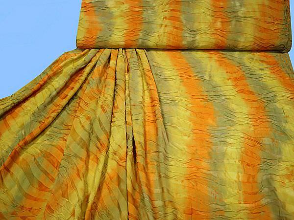 Feinjersey - senfgelb/orange/beige/khaki
