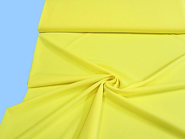 Feinjersey uni - gelb