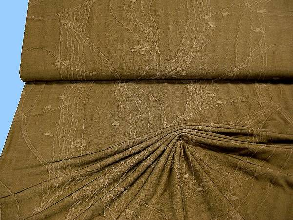 Feinjersey (Doppelgewebe) - khaki/beige